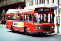 Route 502: Waterloo - Liverpool Street [Withdrawn]