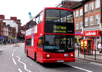 Route 144, Arriva London, DLA203, W403VGJ, Wood Green