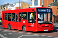 Route S4, Abellio London 8207, YY64GVX, Sutton