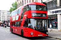 Route 91, Metroline, LT748, LTZ1748, Charing Cross Station