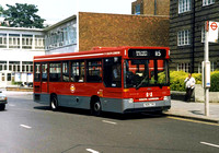 Route 115, South London Buses, DR26, H126THE, Streatham Hill