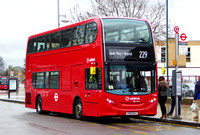 Route 229, Arriva London, T322, LK65ELC, Erith