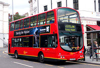 Route 14, Go Ahead London, WVL38, LF52ZRX, South Kensington