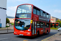 Route 647, Arriva London, VLW113, LJ03MJU, Romford