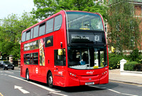 Route E1, Abellio London 2447, SK14CUG, Ealing Broadway