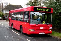 Route 962, Metrobus 254, SN54GPZ, Cuddington