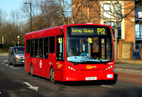 Route P12, Go Ahead London, SE165, YX61DVP,  Rotherhithe