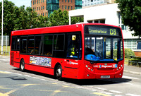 Route D3, Stagecoach London 36362, LX59ECF, Crossharbour