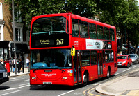 Route 267, London United RATP, SLE43, YN55NKM, Chiswick High Road