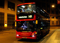 Route N9, London United RATP, SP48, YT09BND, Hammersmith