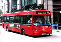 Route 153, CT Plus, HDC9, X593ORV, Liverpool Street