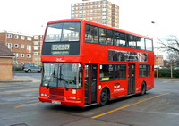 Route 129, East Thames Buses 347, P347ROO, Becontree Heath