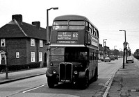 Route 62, London Transport, RT4633, NXP886, Dagenham