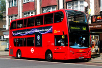 Route 161, Go Ahead London, E208, SN61DCZ, Eltham