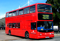 Route 104, East London ELBG 18459, LX55EPF, Stratford