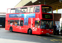 Route U4, First London, TN33337, LK03UFS, Uxbridge
