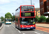 Route 647, East London ELBG 17224, X362NNO, Romford