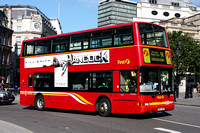 Route 91, First London, TN32887, V887HBY, Trafalgar Square