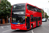 Route 54, Stagecoach London 12272, SN14TWK, Catford