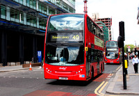 Route 40, Abellio London 9435, LJ09CBO, Aldgate