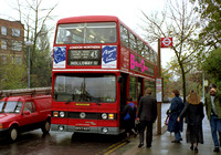 Route 43, London Northern, T745, OHV745Y, Muswell Hill