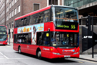 Route 55, Stagecoach London 15131, LX59CMK, Tottenham Court Rd