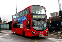 Route 357, First London, VN37854, BV10WWM, Walthamstow