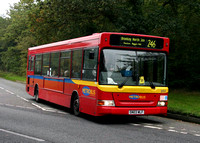 Route 246, Metrobus 205, SN03WLF, Hayes Common