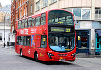 Route 22, Go Ahead London, WHV34, LJ62KFU, Oxford Circus