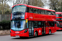 Route 19, Arriva London, HV263, LK66GFU, Hyde Park Corner
