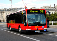 Route 521, Go Ahead London, MEC6, BG09JJY, Waterloo