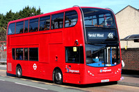 Route 496, Stagecoach London 10157, EU62AYB, Romford