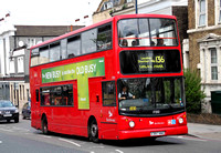 Route 136, Selkent ELBG 17350, X397NNO, New Cross