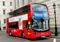 Route 22, Go Ahead London, EH75, YY66OYC, Hyde Park Corner