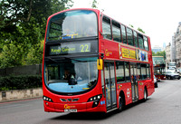 Route 22, Go Ahead London, WHV37, LJ62KGN, Hyde Park Corner