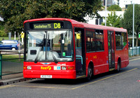 Route D8, First London, DML41405, RG51FXB, Crossharbour