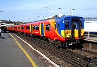 South West Trains, 455707, Clapham Junction