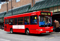 Route 314, Stagecoach London 34366, LV52HGC, Bromley