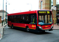 Route B16, Go Ahead London, SE55, YX60DXT, Bexleyheath