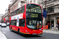 Route 22, Go Ahead London, WVL34, LF52ZRR, Piccadilly