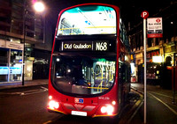 Route N68, London Central, WVL236, LX06DZU, Centrepoint