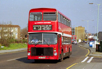 Route W8, London Northern, V19, JOV769P, Edmonton Green
