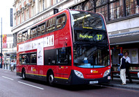 Route 37, London Central, E22, LX06EZS, Clapham Junction