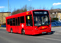 Route 138, Go Ahead London 180, YX62DYN, Hayes