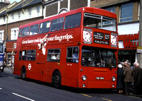 Route 127, London Transport, DMS2481, THX481S