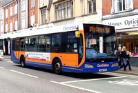 Route 54, Centrebus 709, YN06TGE, Loughborough