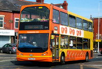 Route 1, Blackpool Transport 334, PN52XKG, Cleveleys