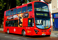 Route EL2, Go Ahead London, WVL446, LJ61GWE, Barking