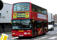 Route 686, First London, TNL33088, LN51GMU, Romford