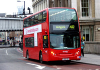 Route 40, Abellio London 9438, LJ09CBX, London Bridge